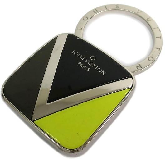 Louis VuittonLouis Vuitton Silver Tone Metal Twist Key Ring