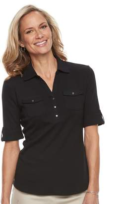 Croft & Barrow Women's Utility Polo