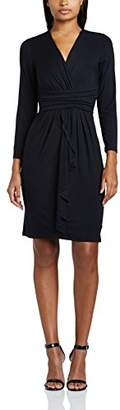 Womens Ruched Belt Wrap Long Sleeve Dress James Lakeland yMkCrpO7