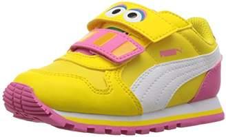 Puma Girls' Sesame STR ST Runner Big Bird hoc V Inf Sneaker