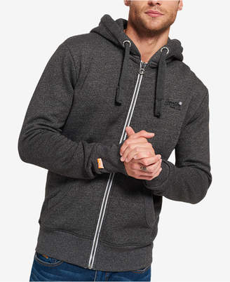 Superdry Men's Orange Label Full-Zip Hoodie