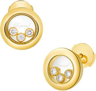 Chopard Happy Diamonds 18ct Yellow Gold Icons Earrings