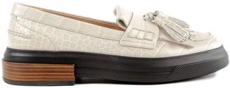 Tod's Tassel Platform Loafers