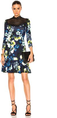 Erdem Reiko Hasu Night Ponte Jersey Dress