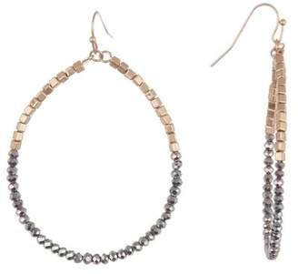 Melrose and Market Beaded Teardrop Dangle Earrings