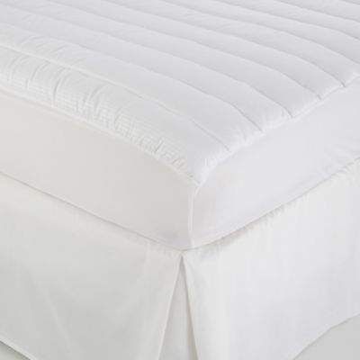 Twin Mattress Pad in White