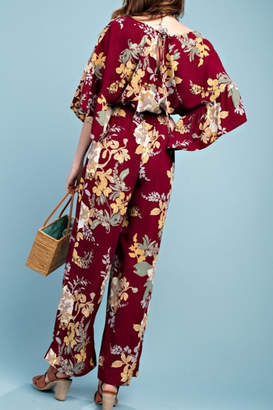 Easel Ah-mazing For Autumn jumpsuit