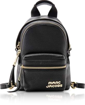 Marc Jacobs Black Leather Micro Backpack