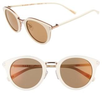 Women's Raen Portrero 50Mm Sunglasses - Bone $185 thestylecure.com