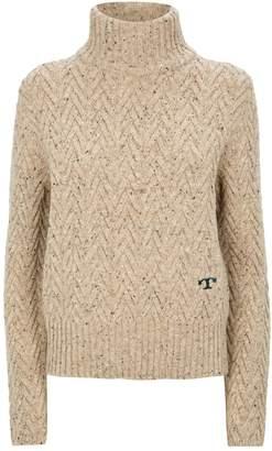 Tory Burch Chunky Turtleneck Sweater