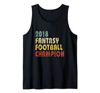 2018 Fantasy Football Champion Tank Top