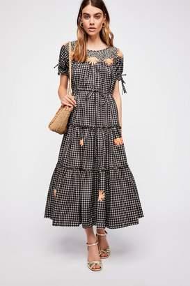 DAY Birger et Mikkelsen Innika Choo Daisy Smock Collar Maxi Dress