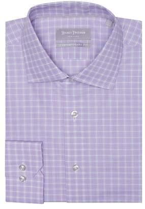 Hickey Freeman Dobby Contemporary Fit Dress Shirt