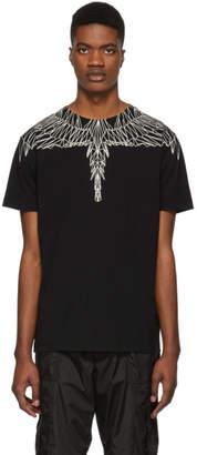 Marcelo Burlon County of Milan Black Neon Wings T-Shirt