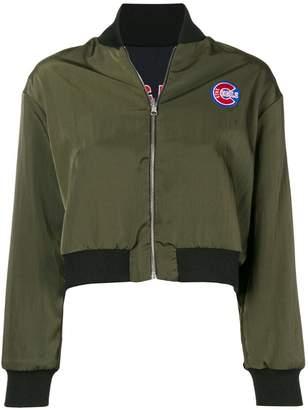 Être Cécile Cubs reversible bomber jacket