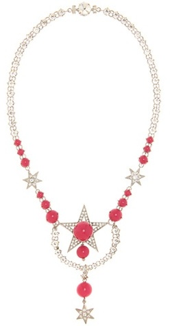Miu Miu Miu Miu Crystal-embellished necklace
