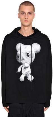 Juun.J Oversize Hooded Zafar Cotton Sweatshirt