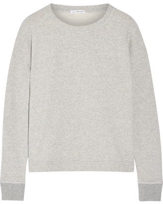 James Perse - French Cotton-terry Sweatshirt - Gray $165 thestylecure.com