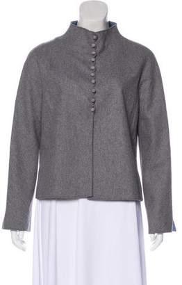 Valentino Angora & Wool Lightweight Jacket