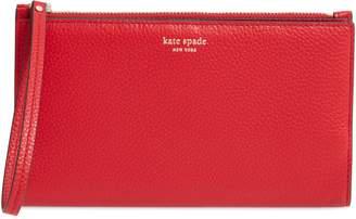 Kate Spade Large Shirley Leather Wristlet