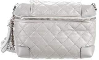 Chanel 2017 Metallic Calfskin Crossbody Bag