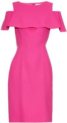 OSMAN Perfect 5 Sorida wool-crepe dress