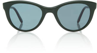 Garrett Leight X Clare V. Acetate Cat-Eye Sunglasses