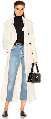 Acne Studios Lucie Trench Coat $900 thestylecure.com