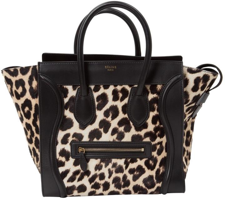 CelineLuggage pony-style calfskin bag
