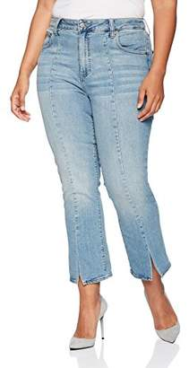 Lucky Brand Women's Plus Size High Rise Emma Mini Boot Jean in