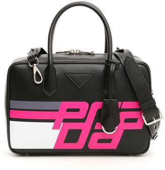 Prada Racing Bowling Bag