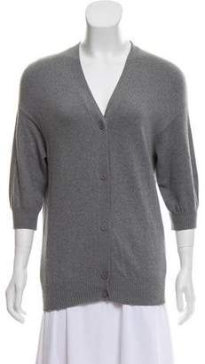Marni Short Sleeve Button-Up Cardigan