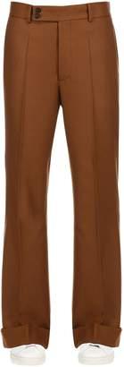 Maison Margiela 30cm Flared Wool Pants
