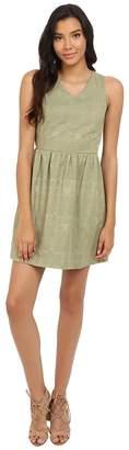 Kensie Soft Texture Geo Dress KS4K7930 Women's Dress