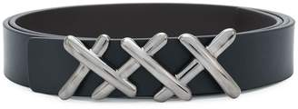 Ermenegildo Zegna adjustable criss-cross belt