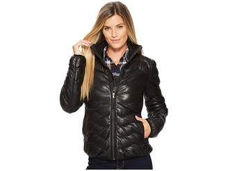 Scully Sydney Touch of Class Ladies Leather Ribbed Jacket