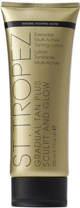 St. Tropez Gradual Tan Plus Sculpt and GlowBody Lotion