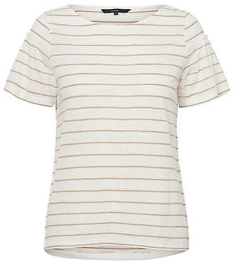 Vero Moda Roza Striped Short-Sleeve Top