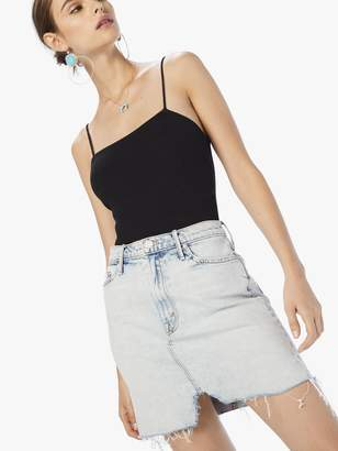 Mother The Sacred Slit Mini Skirt - Saved By The Bell