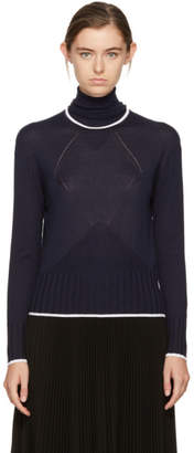 Kenzo Navy Cute Fit Turtleneck