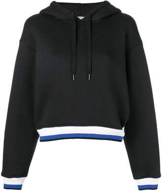 Alexander Wang striped trim hoodie