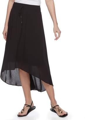 Apt. 9 Women's Smocked High-Low Midi Skirt