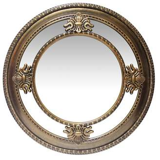 Infinity Instruments Versailles Round Wall Mirror - 23W x 23H in.
