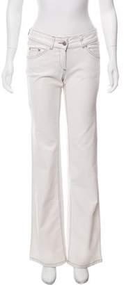 Isabel Marant Mid-Rise Wide-Leg Jeans