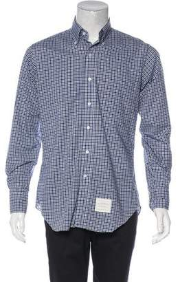 Thom Browne Woven Check Shirt