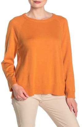 Eileen Fisher Raglan Merino Wool Sweater