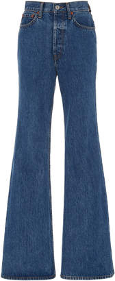 RE/DONE Ultra High-Rise Wide-Leg Jeans