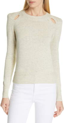 Etoile Isabel Marant Klee Shoulder Cutout Sweater