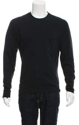 Versace Embroidered Medusa Long-Sleeve T-Shirt w/ Tags