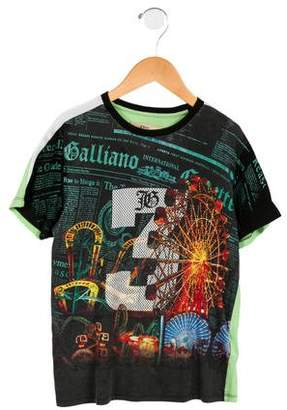 John Galliano Boys' Printed Short Sleeve Shirt